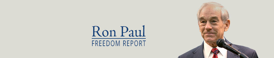 ron paul freedom report